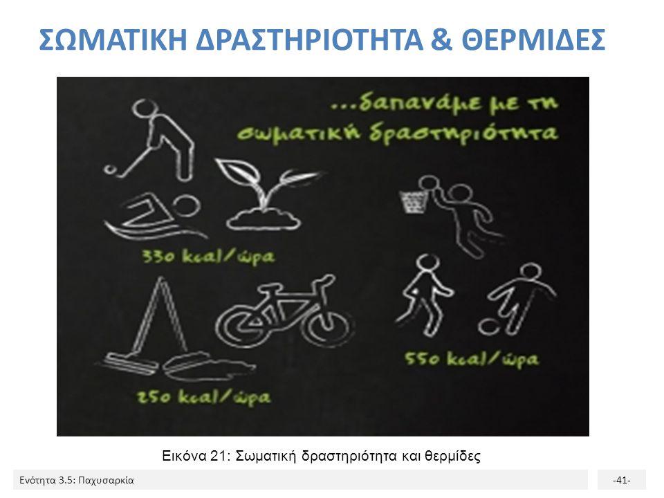 ΣΩΜΑΤΙΚΗ ΔΡΑΣΤΗΡΙΟΤΗΤΑ & ΘΕΡΜΙΔΕΣ