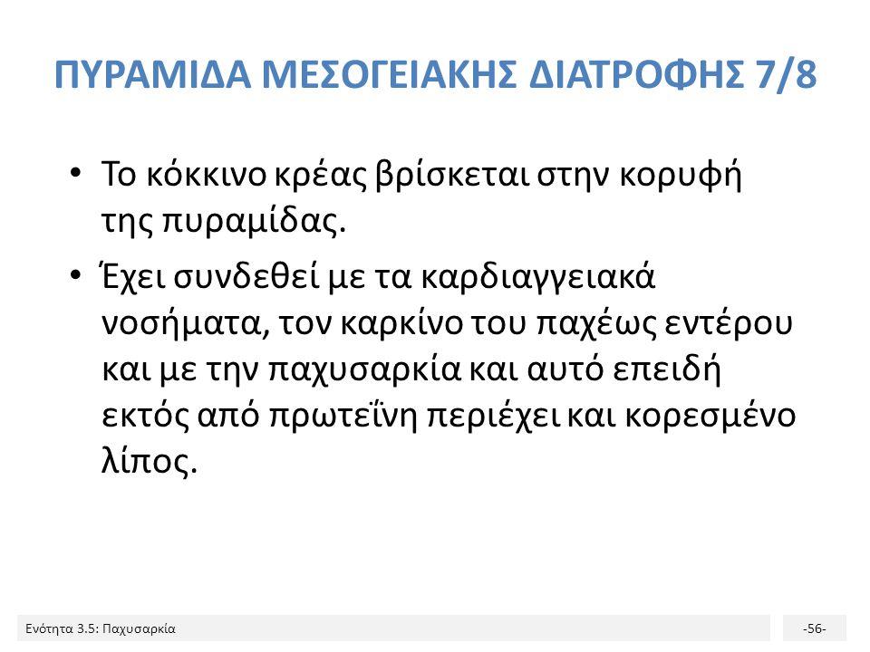 ΠΥΡΑΜΙΔΑ ΜΕΣΟΓΕΙΑΚΗΣ ΔΙΑΤΡΟΦΗΣ 7/8