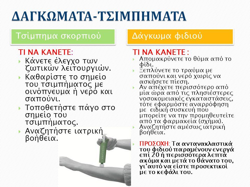 ΔΑΓΚΩΜΑΤΑ-ΤΣΙΜΠΗΜΑΤΑ