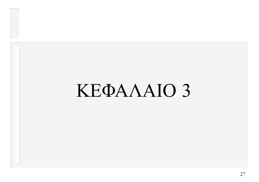 ΚΕΦΑΛΑΙΟ 3