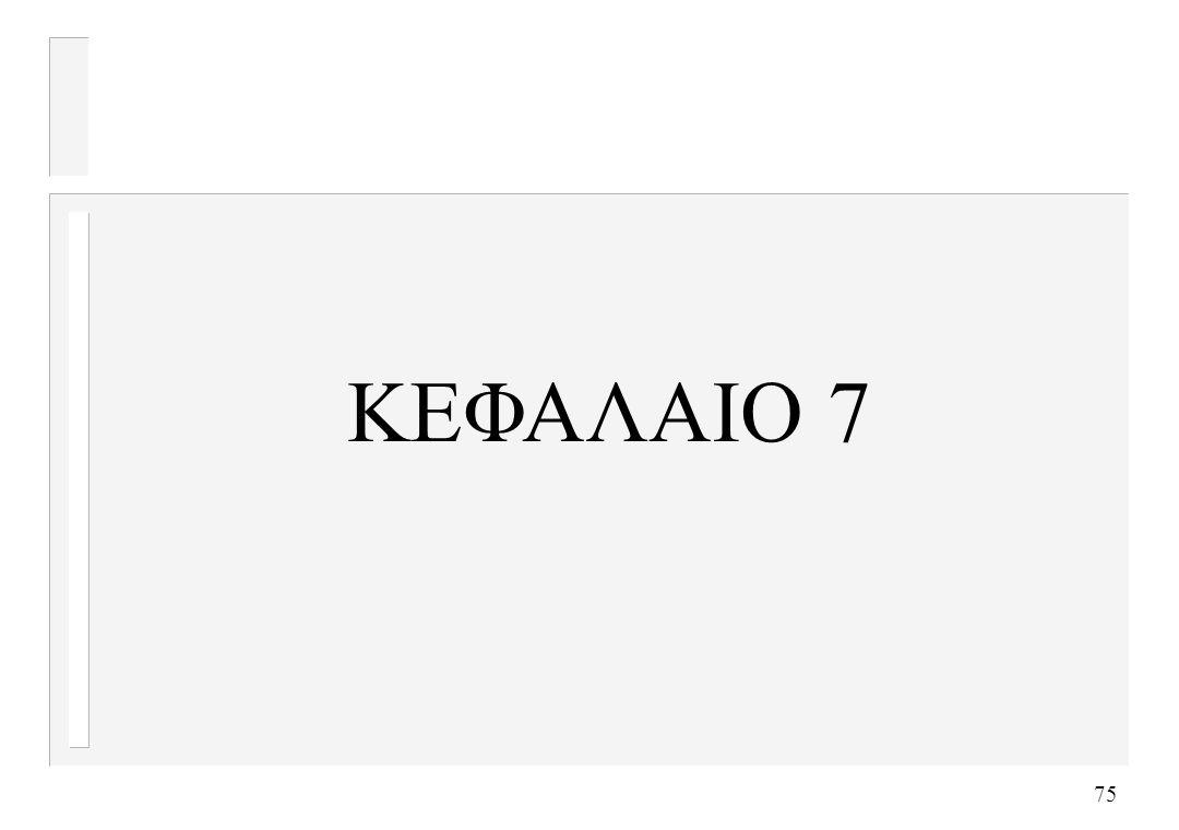 ΚΕΦΑΛΑΙΟ 7