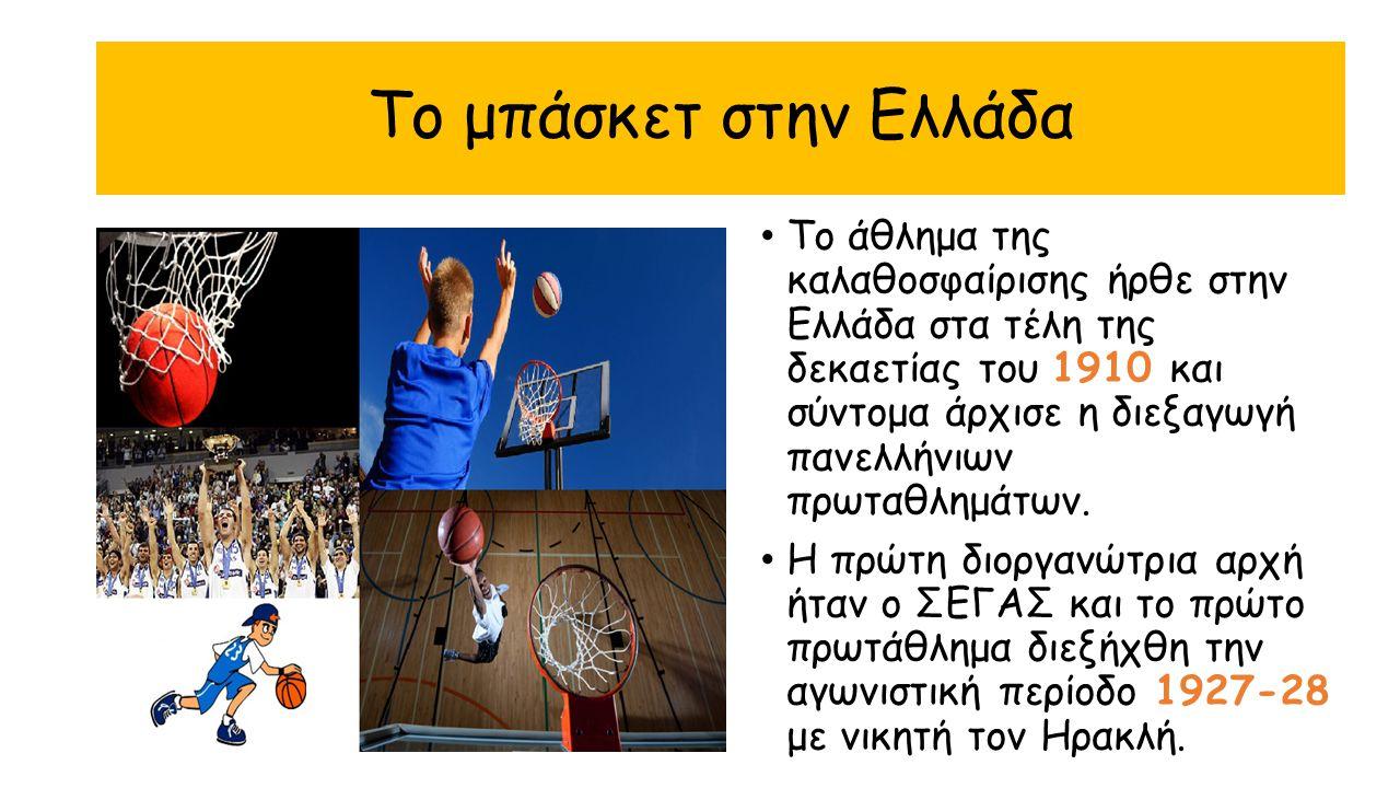 Το μπάσκετ στην Ελλάδα
