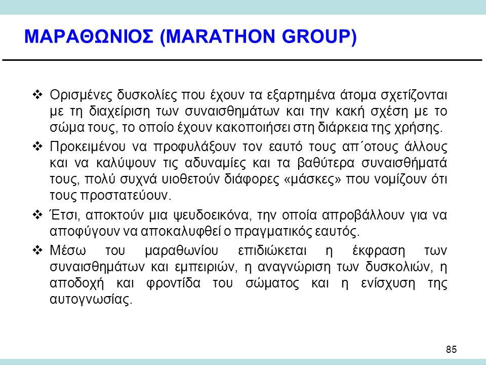ΜΑΡΑΘΩΝΙΟΣ (MARATHON GROUP)