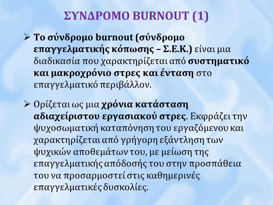 ΣΥΝΔΡΟΜΟ BURNOUT (1)