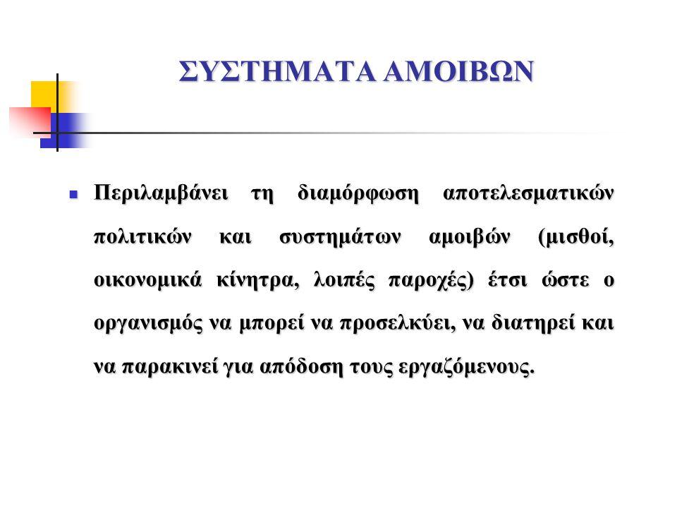 ΣΥΣΤΗΜΑΤΑ ΑΜΟΙΒΩΝ