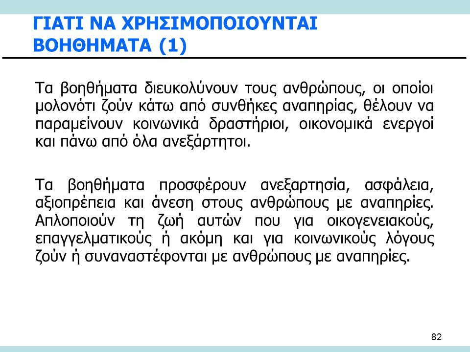 ΓΙΑΤΙ ΝΑ ΧΡΗΣΙΜΟΠΟΙΟΥΝΤΑΙ ΒΟΗΘΗΜΑΤΑ (1)