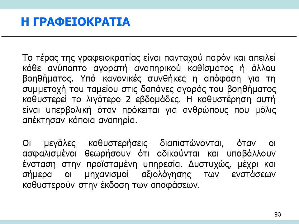 Η ΓΡΑΦΕΙΟΚΡΑΤΙΑ