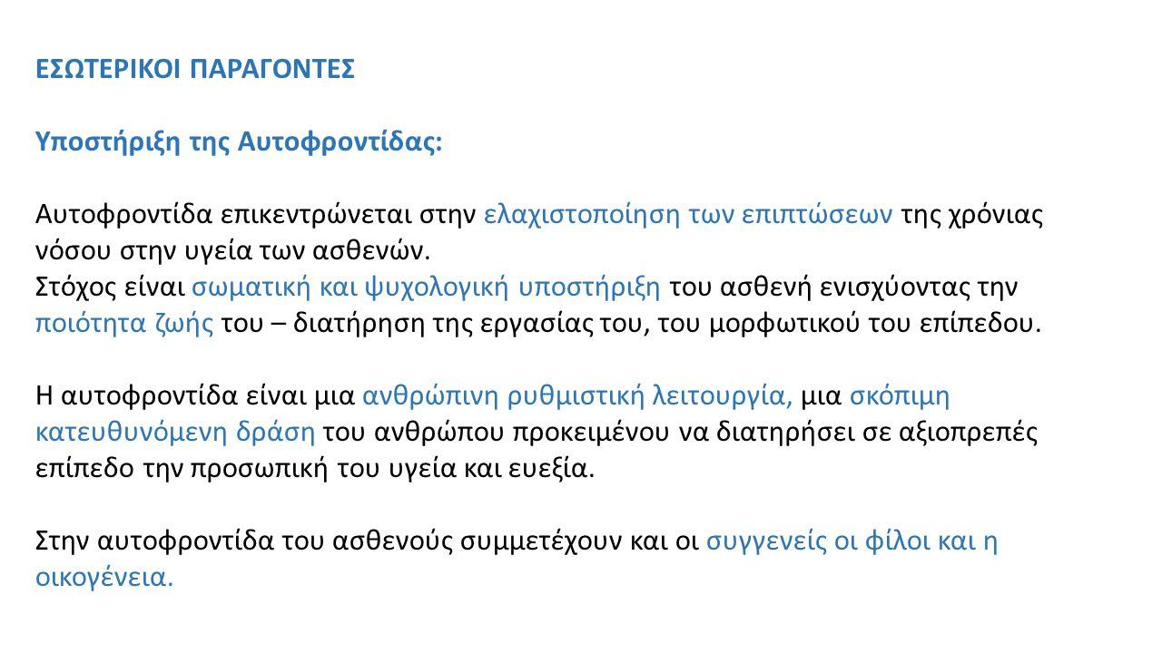 ΕΣΩΤΕΡΙΚΟΙ ΠΑΡΑΓΟΝΤΕΣ