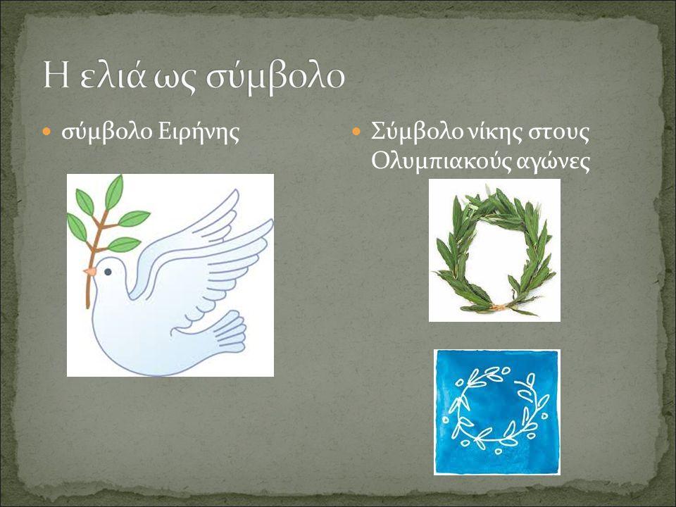 Η ελιά ως σύμβολο σύμβολο Ειρήνης