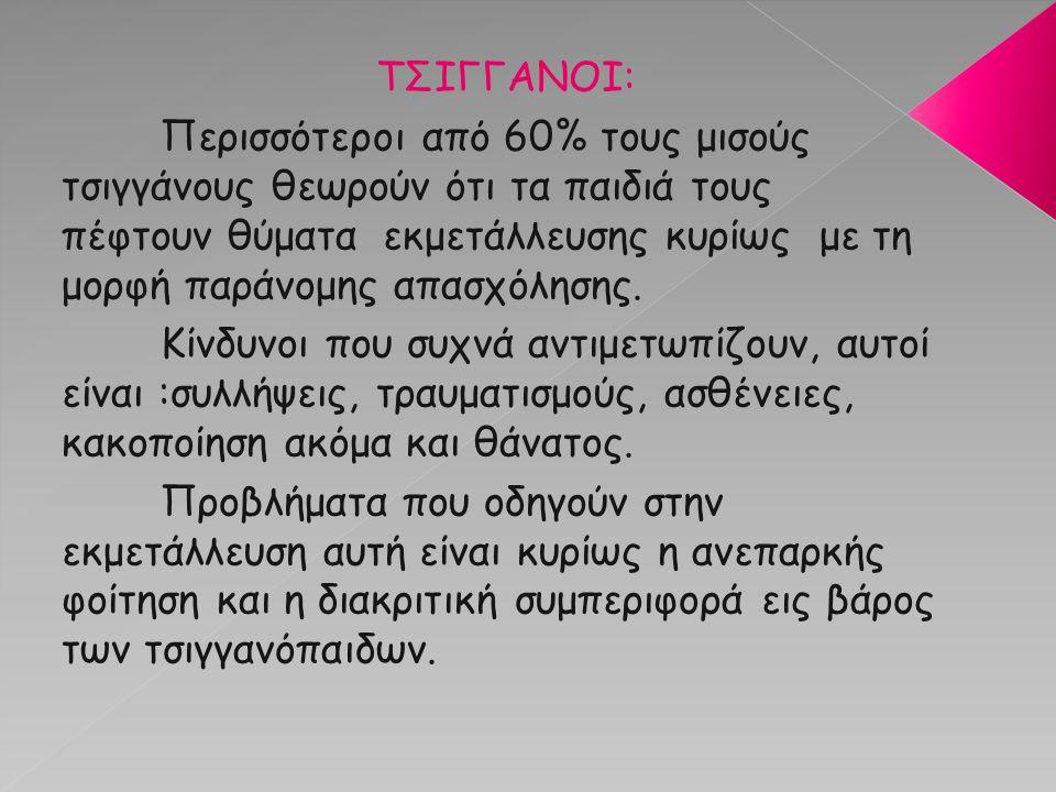 ΤΣΙΓΓΑΝΟΙ: