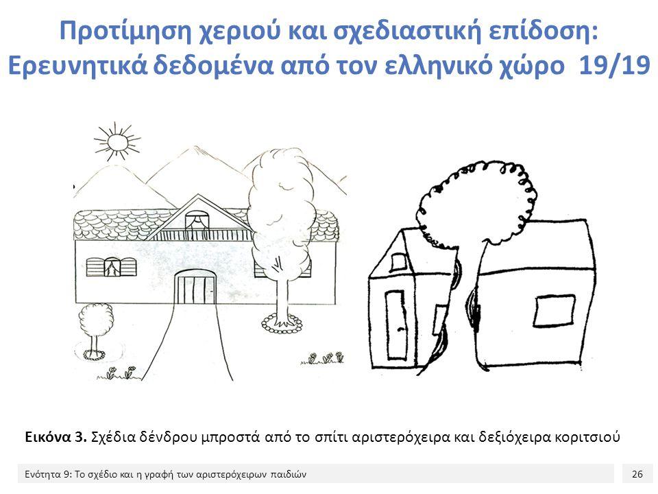 Προτίμηση χεριού και σχεδιαστική επίδοση: Ερευνητικά δεδομένα από τον ελληνικό χώρο 19/19