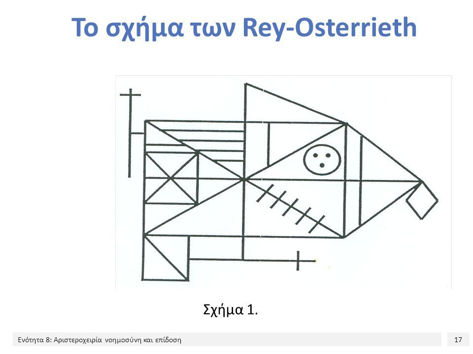 Το σχήμα των Rey-Osterrieth