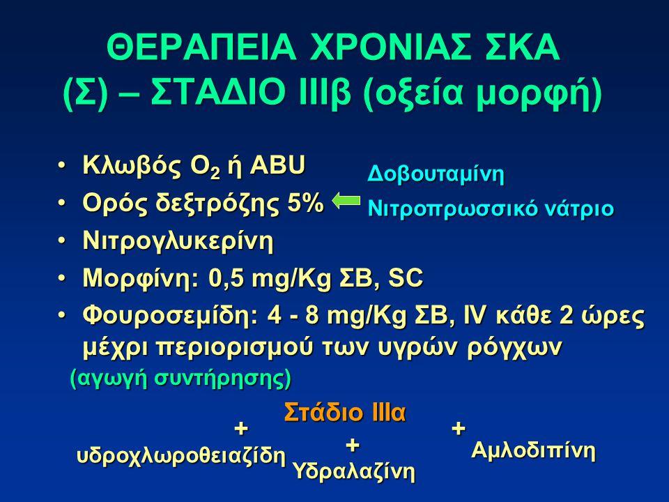 ΘΕΡΑΠΕΙΑ ΧΡΟΝΙΑΣ ΣΚΑ (Σ) – ΣΤΑΔΙΟ ΙΙΙβ (οξεία μορφή)