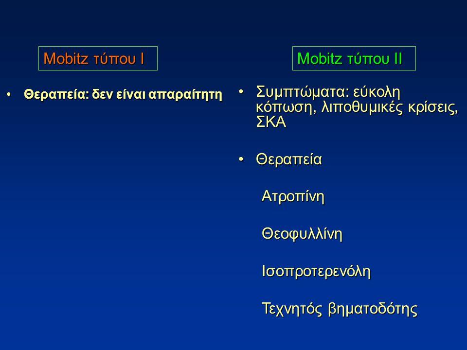 Συμπτώματα: εύκολη κόπωση, λιποθυμικές κρίσεις, ΣΚΑ