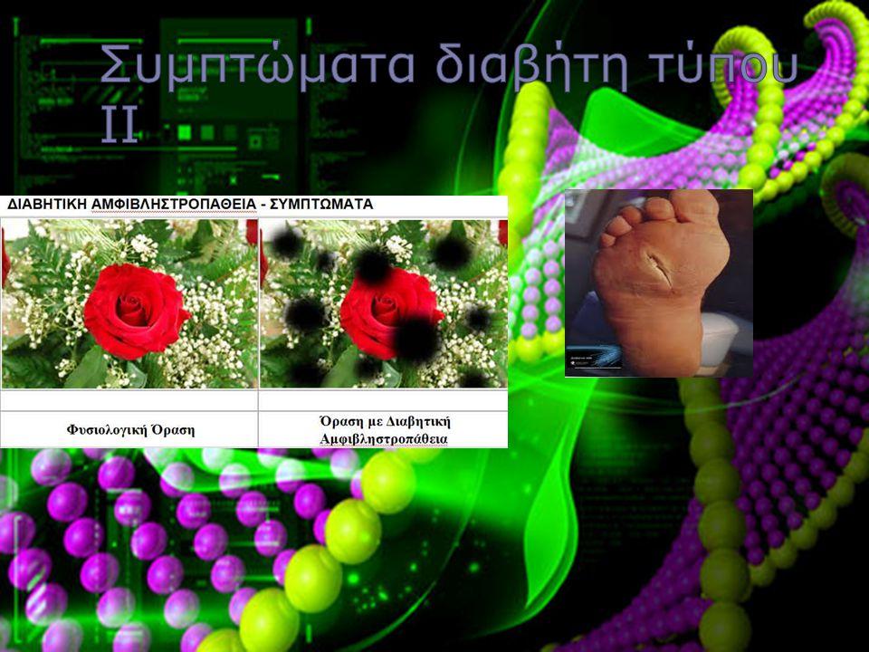 Συμπτώματα διαβήτη τύπου ΙΙ