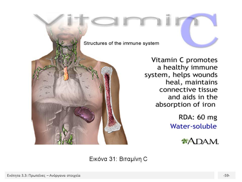Εικόνα 31: Βιταμίνη C