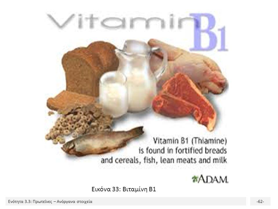 Εικόνα 33: Βιταμίνη Β1