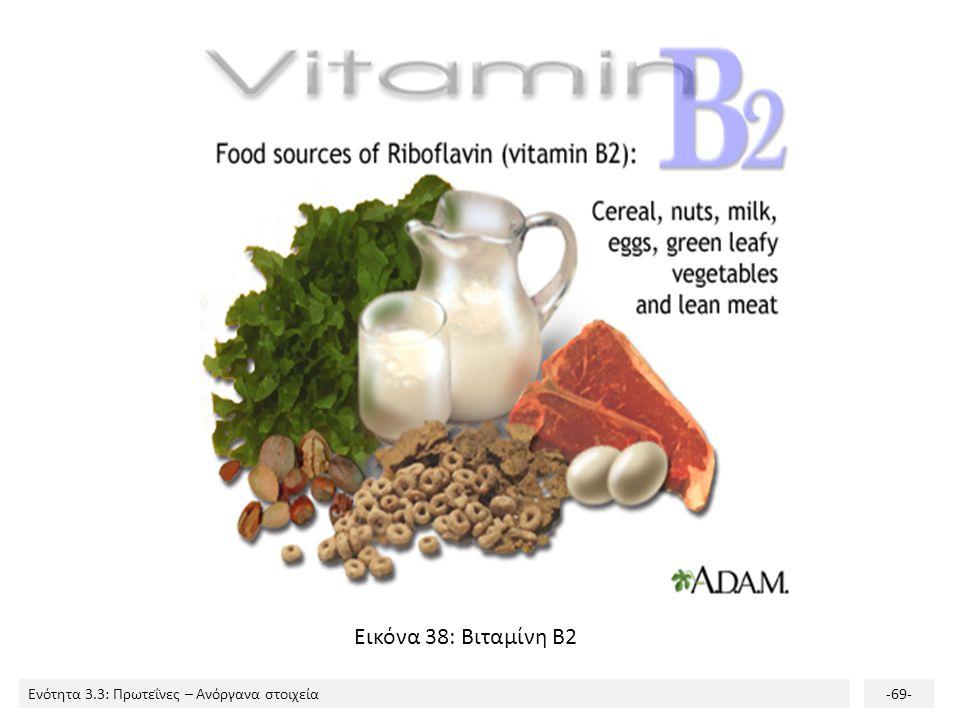 Εικόνα 38: Βιταμίνη Β2
