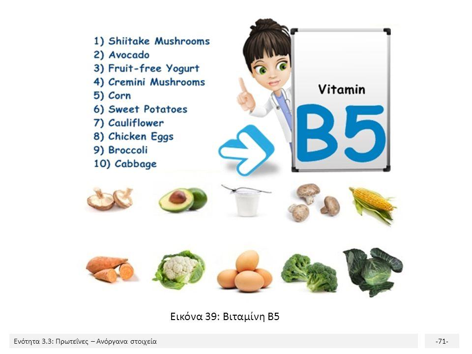 Εικόνα 39: Βιταμίνη Β5