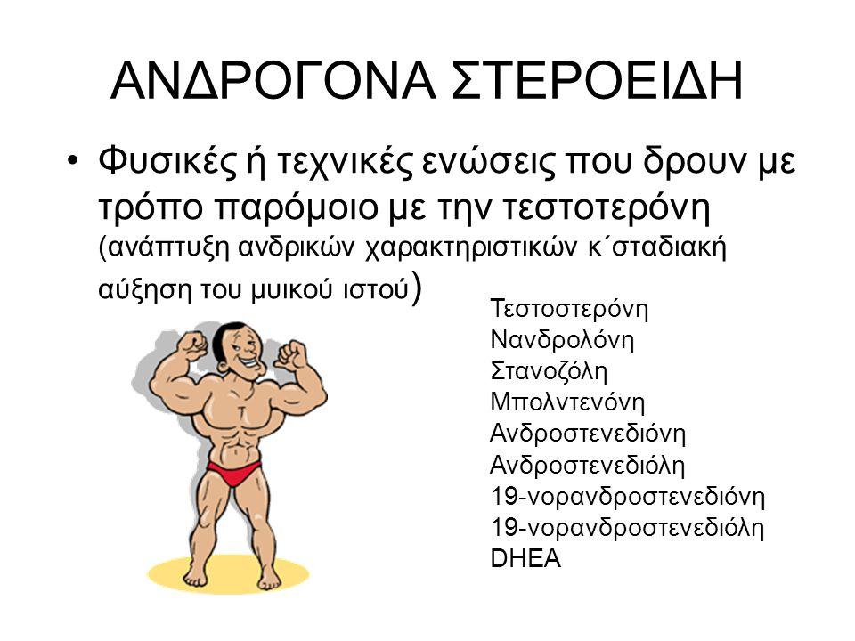 ΑΝΔΡΟΓΟΝΑ ΣΤΕΡΟΕΙΔΗ