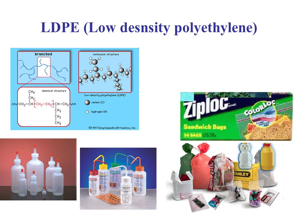 LDPE (Low desnsity polyethylene)