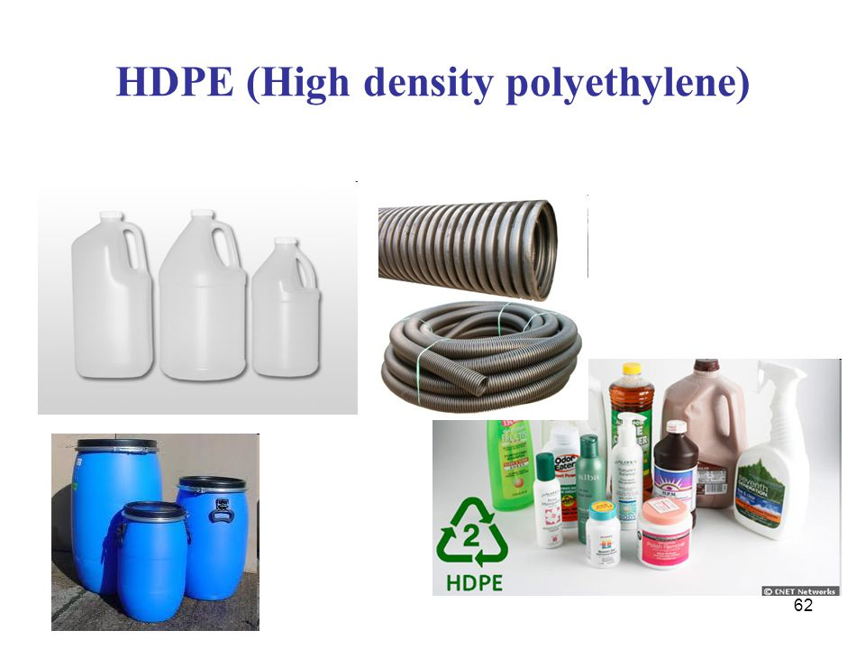 HDPE (High density polyethylene)