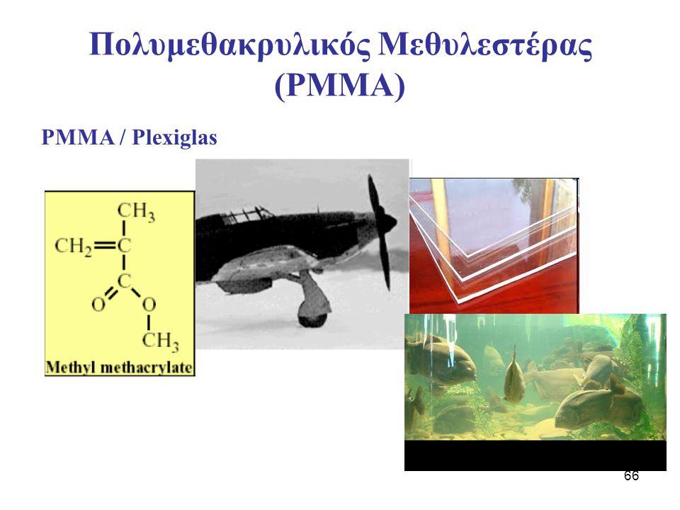 Πολυμεθακρυλικός Μεθυλεστέρας (PMMA)