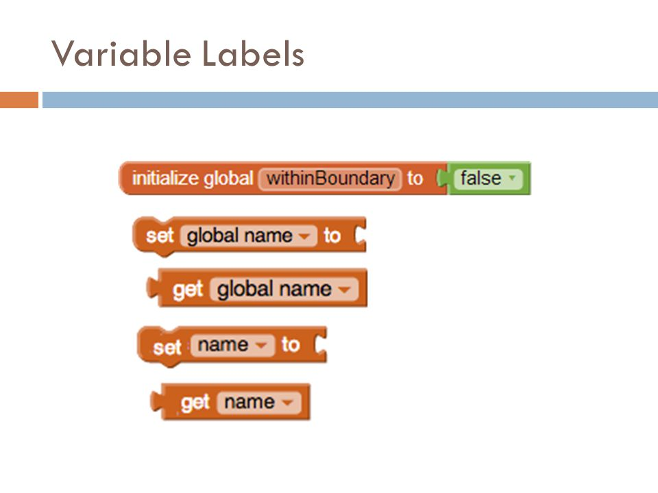 Variable Labels