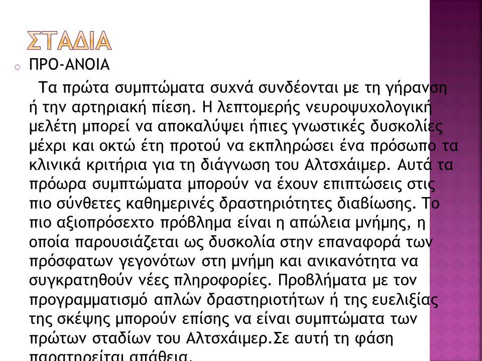 ΣΤΑΔΙΑ ΠΡΟ-ΑΝΟΙΑ.
