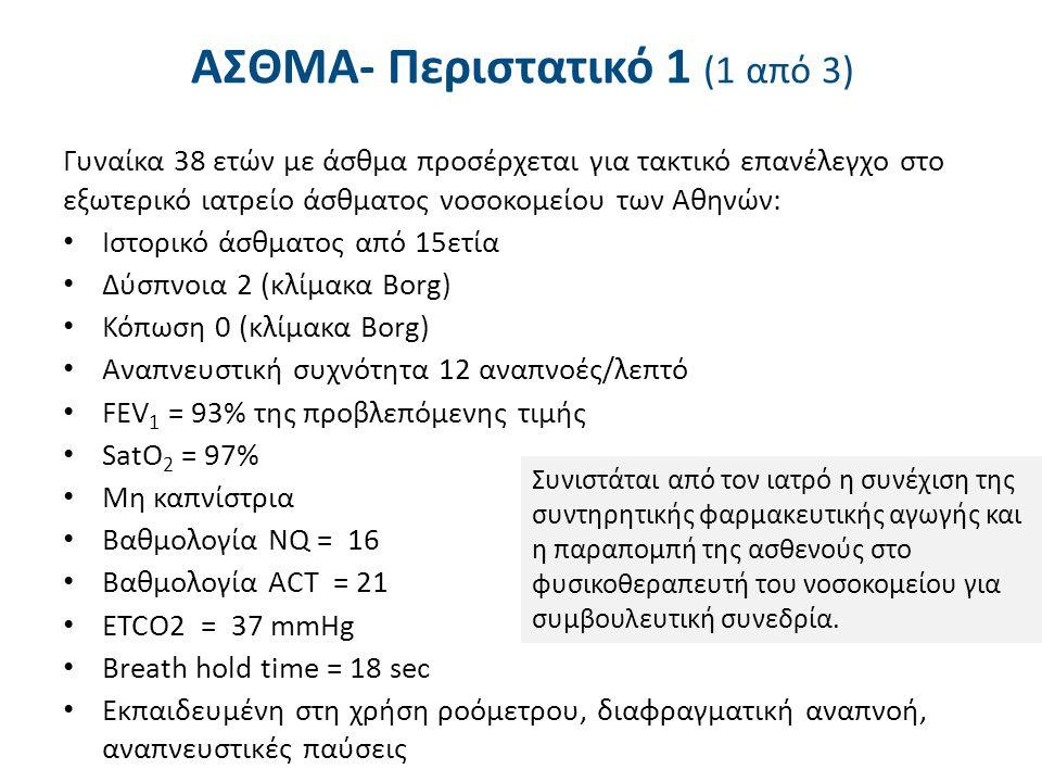 ΑΣΘΜΑ- Περιστατικό 1 (2 από 3)