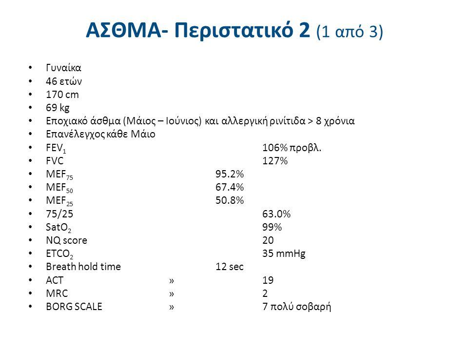 ΑΣΘΜΑ- Περιστατικό 2 (2 από 3)