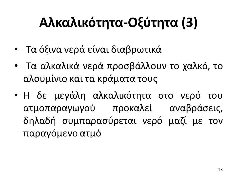 Αλκαλικότητα-Οξύτητα (3)