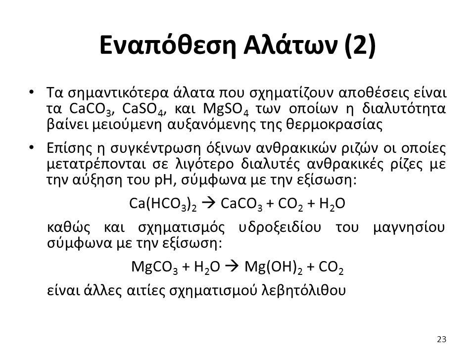 Εναπόθεση Αλάτων (2)