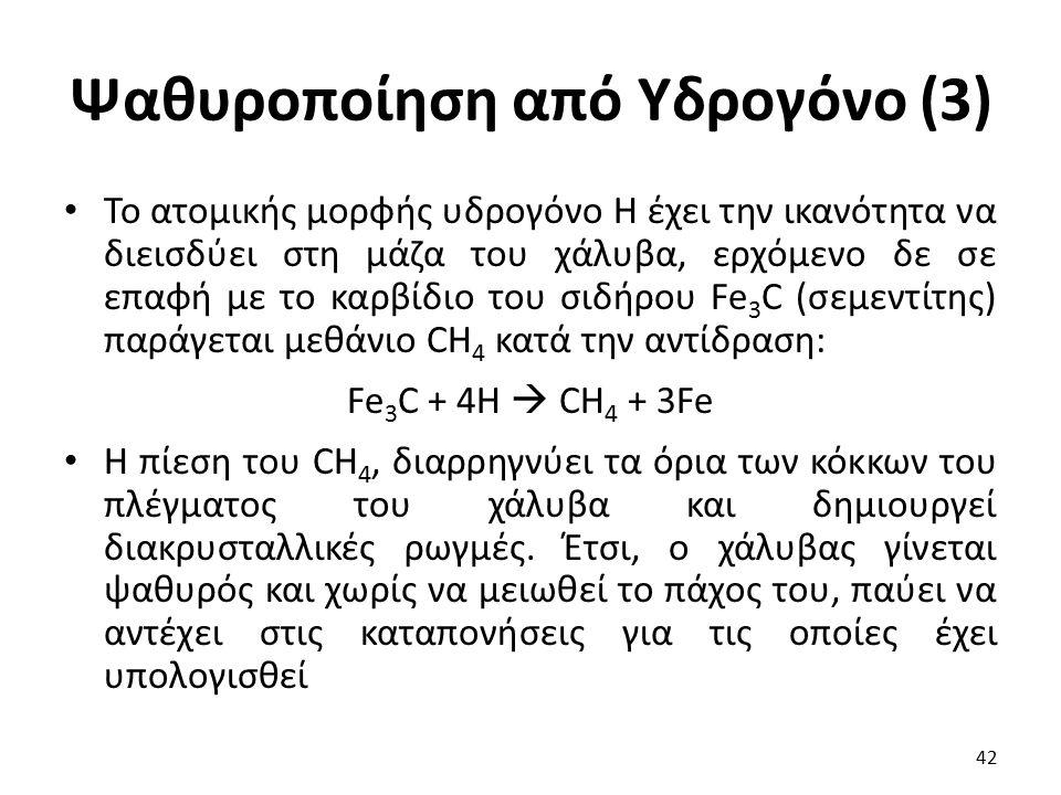 Ψαθυροποίηση από Υδρογόνο (3)