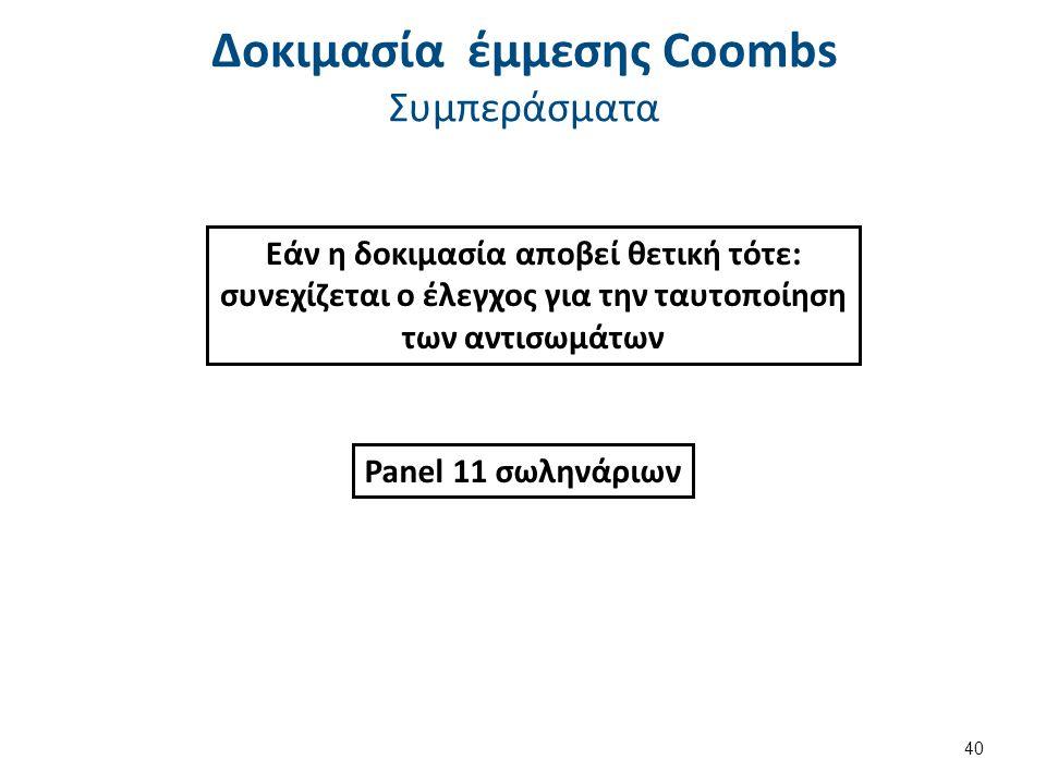Coombs test schematic , από A. Rad διαθέσιμο με άδεια CC BY-SA 3.0