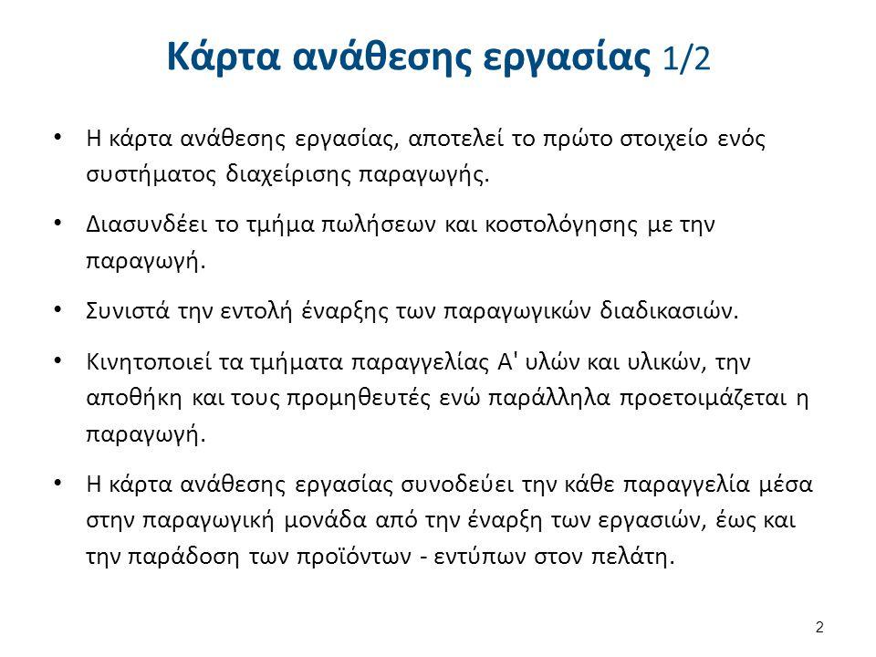 Κάρτα ανάθεσης εργασίας 2/2