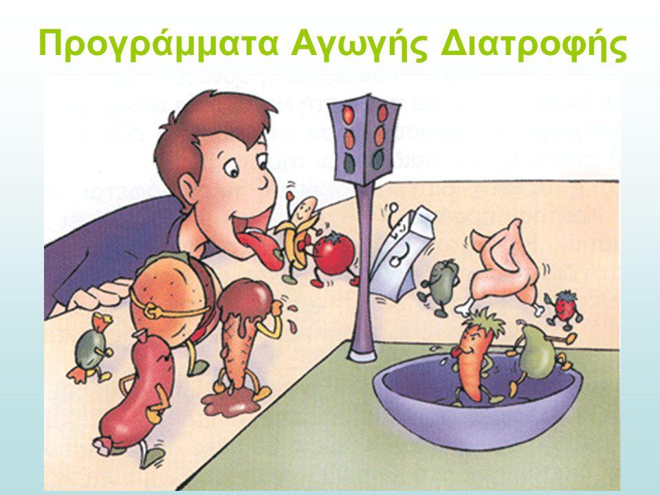 Προγράμματα Αγωγής Διατροφής