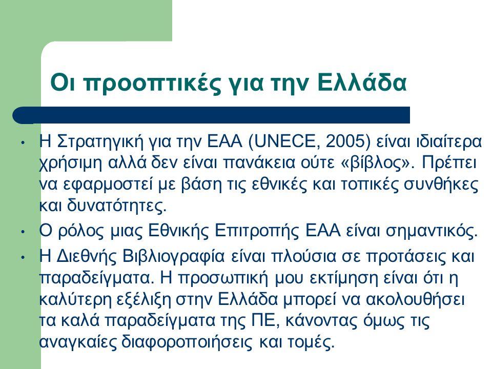 Οι προοπτικές για την Ελλάδα