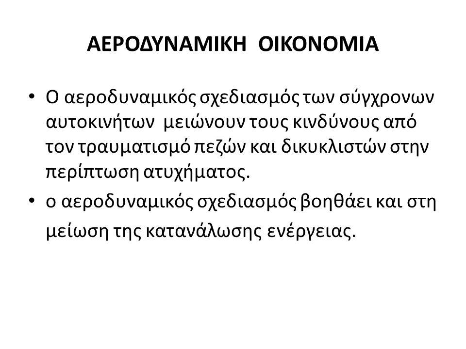 ΑΕΡΟΔΥΝΑΜΙΚΗ ΟΙΚΟΝΟΜΙΑ