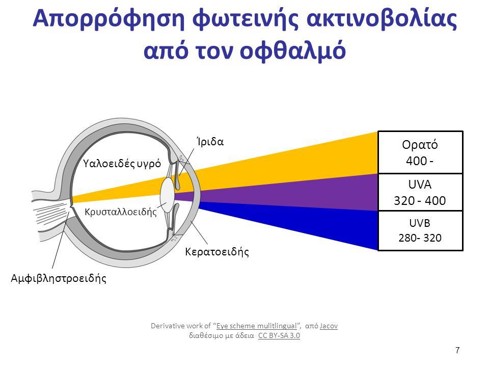Βλάβες που προκαλεί η ηλιακή ακτινοβολία (1 από 2)