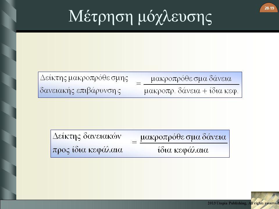 Μέτρηση μόχλευσης 2013 Utopia Publishing, All rights reserved 3