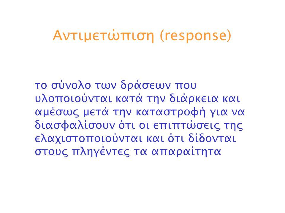Αντιμετώπιση (response)
