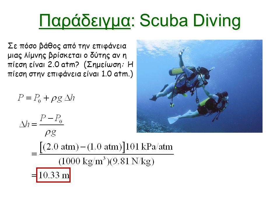 Παράδειγμα: Scuba Diving