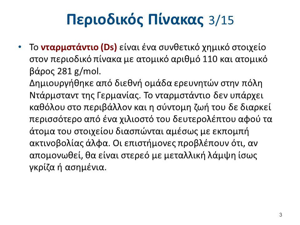 Περιοδικός Πίνακας 4/15