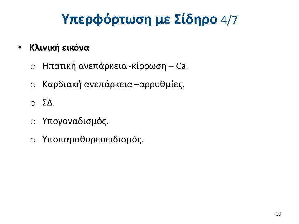 Υπερφόρτωση με Σίδηρο 5/7