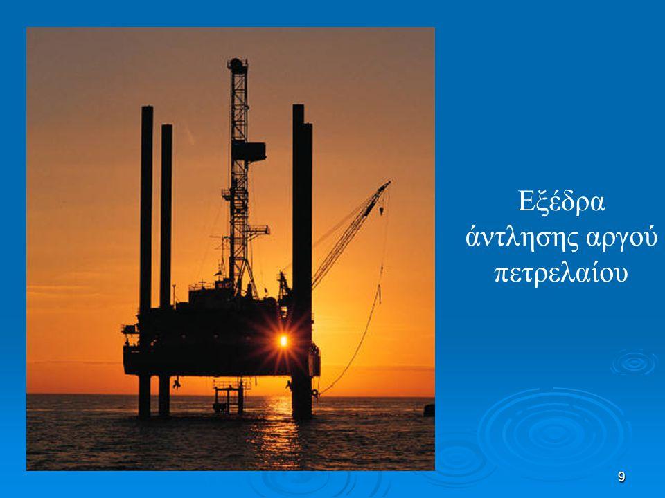 Εξέδρα άντλησης αργού πετρελαίου