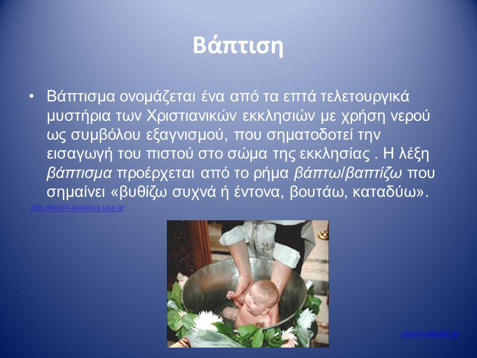 Βάπτιση