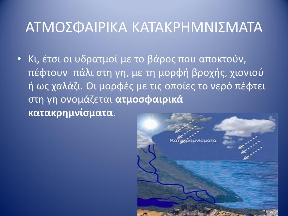 ΑΤΜΟΣΦΑΙΡΙΚΑ ΚΑΤΑΚΡΗΜΝΙΣΜΑΤΑ