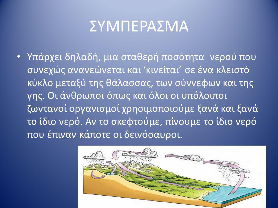 ΣΥΜΠΕΡΑΣΜΑ