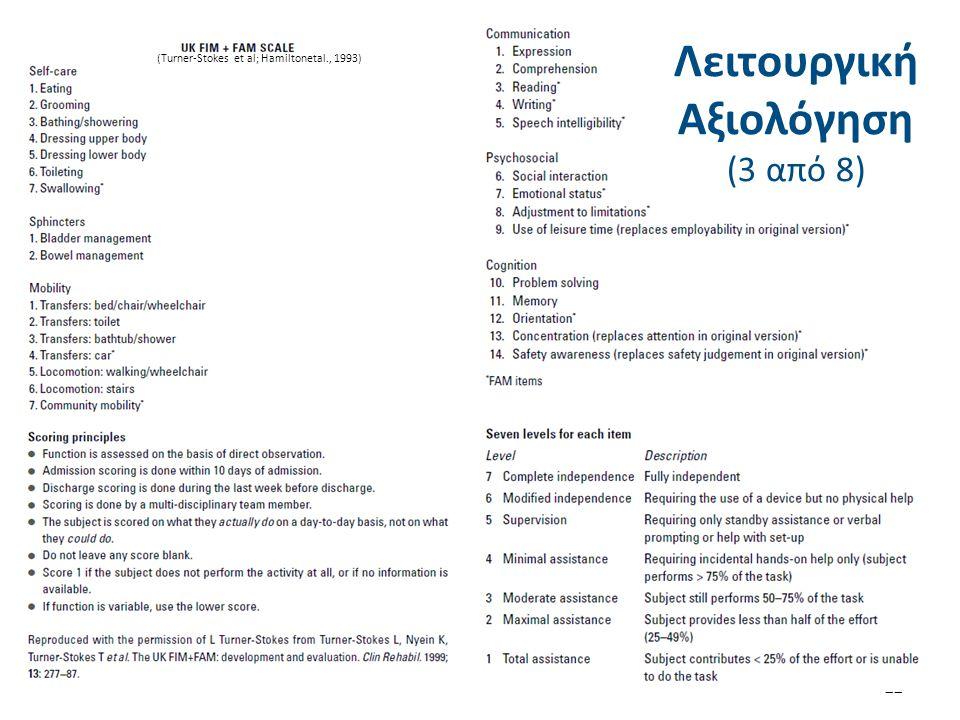 Λειτουργική Αξιολόγηση (4 από 8)